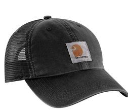 men s brandt hat washed black snapback
