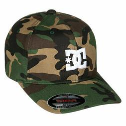 cc57832488c5 DC Shoes Men's Cap Star 2 Flexfit Hat Camo Green Baseball Ca