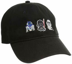 Star Wars Men's Character Baseball Cap, Adjustable Slide