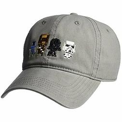 Star Wars Men's Character Baseball Cap, Grey, One Size