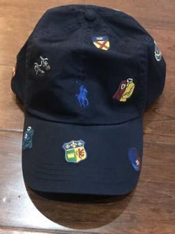 POLO RALPH LAUREN Men's Cotton Chino Baseball Cap Hat, All O