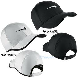 NIKE Men's Featherlight Tennis Running Hat Cap Swoosh Dri-Fi