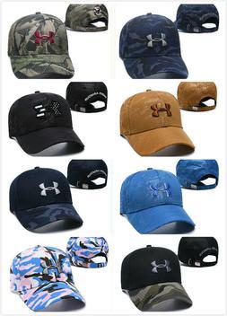 Men's Hat Adjustable Fit Under Armour Golf Baseball Cap Embr