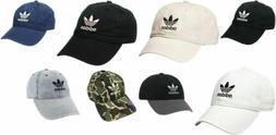 adidas Men's Originals Relaxed Strap Back Cap Hat Trefoil Bl
