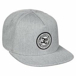DC Shoes Men's Reynotts Snapback Hat Gray Heather Headwear B