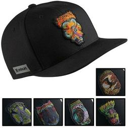 Hurley Men's Team Pro Snapback Hat Cap - Black