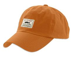 Orvis Men's Vintage Waxed-Cotton Ball Cap, Burnt Orange