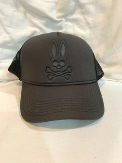 Psycho Bunny Men's World Cup Baseball Cap Blacksand B6A977B1