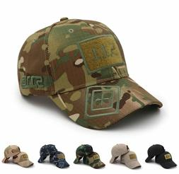Mens Army camouflage baseball cap 511 tactical caps outdoor