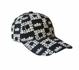 Mens Dolce & Gabbana Baseball Cap Hat Black & White all Over