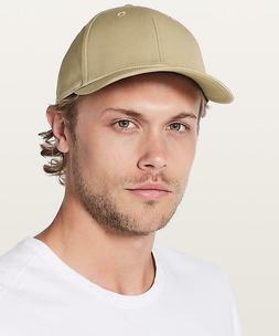 Mens Lululemon On the Fly Ball Baseball Cap Hat Khaki Outdoo