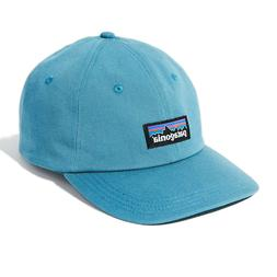 Patagonia | Mens P-6 Label Trad Cap Hat | Break Up Blue