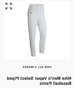 NIKE Men's Vapor Pro Baseball Pants w/Navy Piping -RETAIL