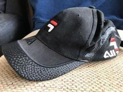 FILA Mens Womens Golf Adjustable Outdoor Sport Hat Baseball