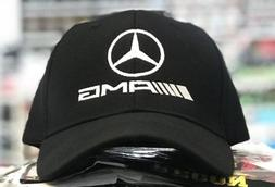 Mercedes-Benz AMG baseball Cap Hat, black. Adjustable size w