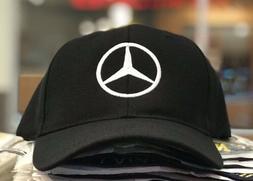 Mercedes-Benz baseball Cap Hat, black. Adjustable size with