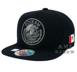 MEXICAN Hat Snapback MEXICO Federal Logo Embroidered Basebal