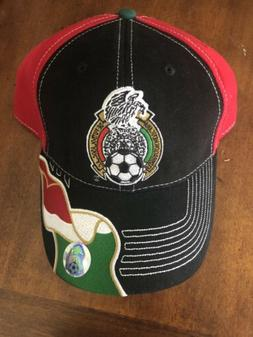 Mexico National Football Team Logo Curved Soccer Baseball Ad