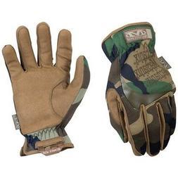 Mechanix Wear MFF-77-009 Men Woodland Camo TrekDry FastFit H
