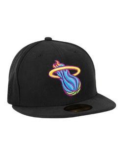 Miami Heat New Era Multipop Fitted Hat