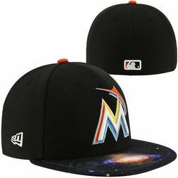 Miami Marlins Men's New Era 59FIFTY Baseball MLB Galaxy Fitt
