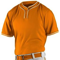 Alleson Athletic Boy's Microfiber 2 Button Baseball Jerseys