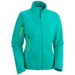 Columbia Women's Millon Air Softshell Jacket - Glaze Green