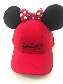 02137f44197 Editorial Pick Disney Minnie Mouse Polka Dot Baseball with Ears