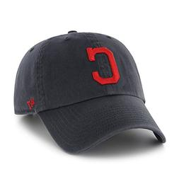 MLB Cleveland Indians Men's Alternate Home Clean Up Cap, One