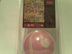 MLB Cleveland Indians Team Pink Collectible Baseball