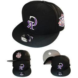 New Era MLB Colorado Rockies Snapback Hat National League Si