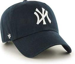 MLB New York Yankees Men's '47 Brand Home Clean Up Cap, Navy