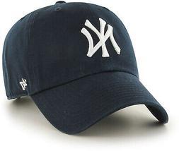 MLB New York Yankees Mens 47 Brand Home Clean Up Cap, Navy,