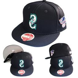 New Era MLB Seattle Mariners 5950 Classic Fitted Hat League