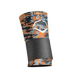 EvoShield MLB Wrist with Strap Digital Camouflage, Orange/Bl