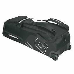 DeMarini Momentum Baseball Wheeled Bag-Black SKU: WTD9406BL