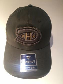 Montreal Canadiens Brown Baseball Cap