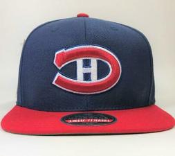 Montreal Canadiens Navy/Red NHL Snapback Hat American Needle