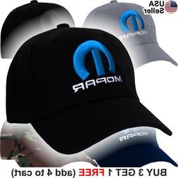 Mopar Logo Cap Emblem Hemi Challenger Charger Racing Hat
