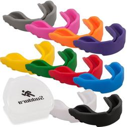 Suddora Mouth Guards - Protective Sports Safety Gear w/ Vent