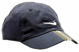 Nike Infants 1224 Months Navy Embroidered Swoosh Cap , Obsid