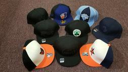 NBA NFL MLB Fitted Baseball Caps, Size 7-3/4, Reebok and New