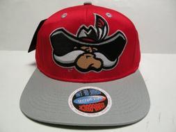 NCAA Nevada Las Vegas UNLV Rebels Logo Red Gray 2 Tone Snapb