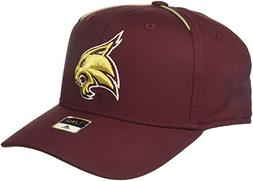 adidas NCAA Texas State Bobcats Adult Men Coach's Structured