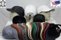 New 100% Real Genuine Lambskin Leather Baseball Cap Hat Spor