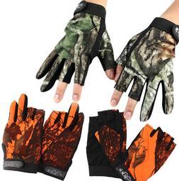 New 3 Shorter Finger Waterproof Fishing <font><b>Gloves</b><