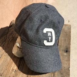 New abercrombie fitch Baseball Cap Hat NYC Charcoal Grey New