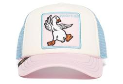 New Goorin Bros Animal Farm Silly Goose Trucker Hat Pink San
