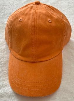 NEW Adams Cap Baseball Hat 6-Panel Low-Profile Washed Pigmen