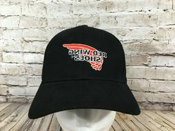 New RED WING Shoes Baseball Hat Cap OSFA Adult Black